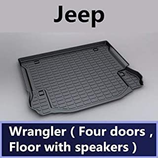 Car Boot Pad Carpet Cargo Mat Trunk Liner Tray Floor Mat Tray Floor Carpet For Jeep 2010 2012 2013 2014 2015 2016 2017 201...