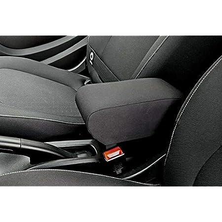 colore: nero Bracciolo centrale per braccioli Forfour con controllo centrale accessori per lo stile dellauto CUHAWUDBA per Mercedes New Smart 453 Fortwo