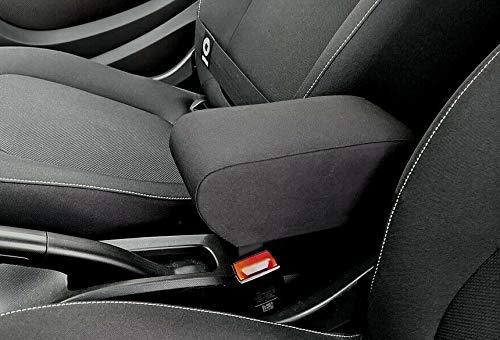 Bracciolo per Smart 453 ForTwo e ForFour TESSUTO NERO e regolabile in lunghezza