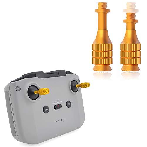 Linghuang, telecomando Air 2S / Mini 2, telecomando telescopico per pollice Joystick regolabile per DJI Air 2S / Mini 2 / Mavic Air 2 / Smart Controller Drone accessori