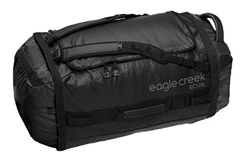 Eagle Creek Ultra-Light Luggage Cargo Hauler Duffel XL, Travel Duffle, 80 cm,120 L, Black