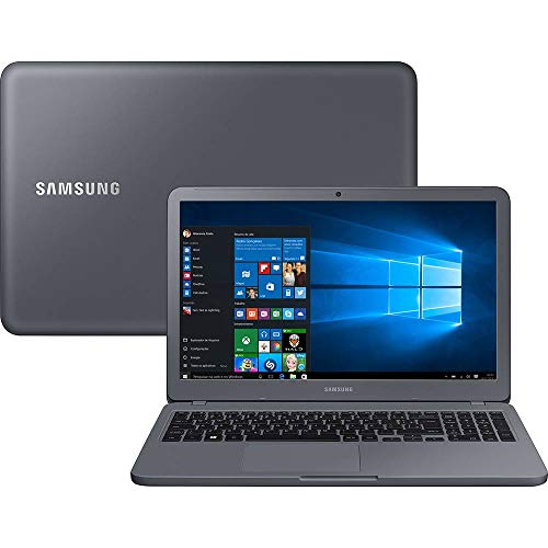 Notebook Samsung Essentials E30, Intel Core i3  7020U, 4GB RAM, HD 1TB, tela 15,6' Full HD LED, Windows 10, NP350XAA-KF3BR