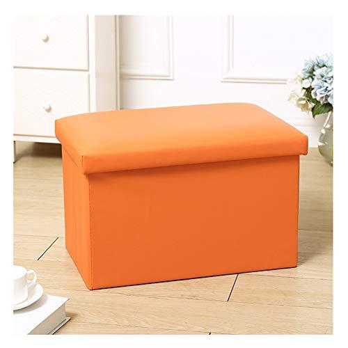 Puff Sgabello Rettangolare feci di immagazzinaggio delle feci di immagazzinaggio può sedersi divano adulto poltrona di stoccaggio sgabello domestico scatola di immagazzinaggio pieghevole Contenitore S