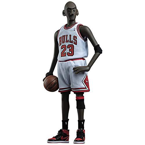 WANG 1/6 Michael Jordan NO.23 Action Figur NBA Basketball Star Toy Statue Hochwertige Modellkollektion Dekorative Ornamente Weihnachten, Halloween, Thanksgiving PVC