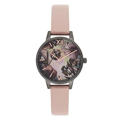 Olivia Burton Reloj para de Cuarzo japonés con Correa en plástico OB16TW04