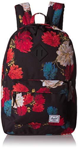 Herschel Supply Co. Rucksack Heritage, Vintage Floral Schwarz (mehrfarbig) - 10007-02997-OS