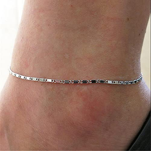 WWWL Fußkette Feine Sexy Anklet Armband barfuß Sandalen Fuß Schmuck Beinkette am Fuß 50036