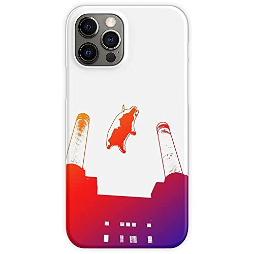 Phone Case Floyd Pigs Music Pig Wing England Pink UK Compatible with iPhone 12 Pro Max 11 Pro Max XR X/Xs Max SE 2020 7/8/6/6s Plus Charm Shockproof Drop