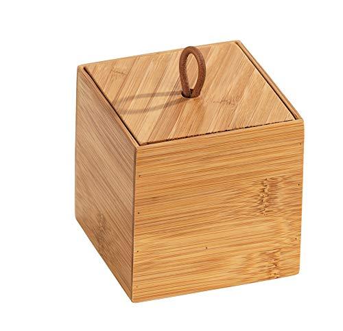 WENKO Bambus Box Terra S mit Deckel