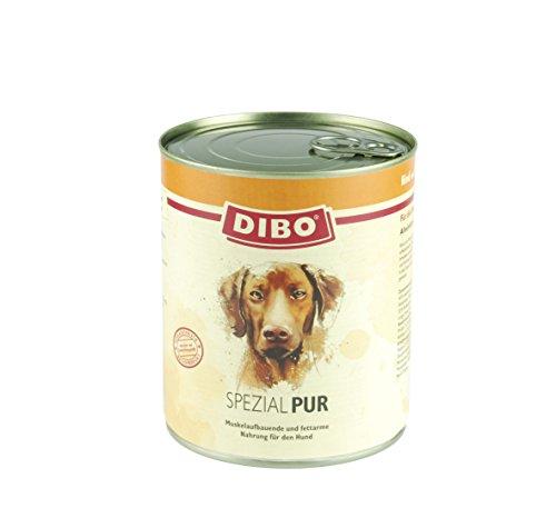 DIBO – PUR SPEZIAL (Rind/Pansen), 800g-Dose, reine Fleischdosen aus frischem und natürlichem Fleisch! DIBO-Qualität