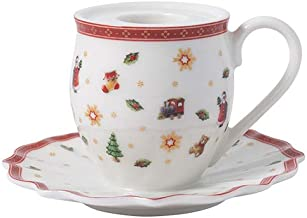 Villeroy & Boch Toy's Delight Decoration Candle Holder Cup with Handle, Multicoloured, 10 x 6 cm