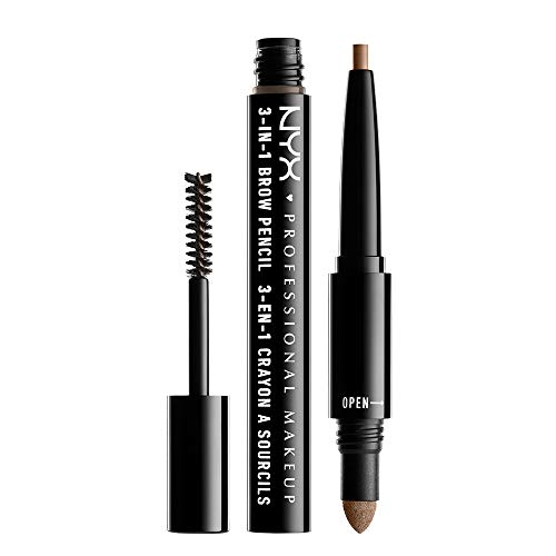 NYX 3-In-1 Brow Pencil - Taupe