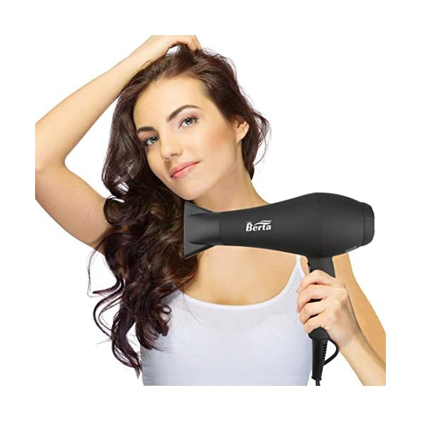 Beauty Shopping 1875W Professional Hair Dryer, 3 Minute Fast Drying Infrared Blow Dryer with Diffuser