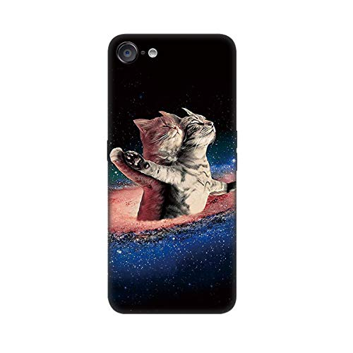 DiaryTown para Funda iPhone 6 Plus/iPhone 6S Plus, Carcasa Silicona Blando iPhone 6 Plus Caso Negro con Dibujos Animal Slim y Ligero Gel TPU Piel Antigolpes Protectora Back Cubierta, Abrazo Gato