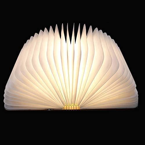 Faltbare LED-Stimmungsbeleuchtung von Colleer, LED-Lampe mit Multi-Farben, Stimmungslicht ideal als Buchlampe, Tischlampe