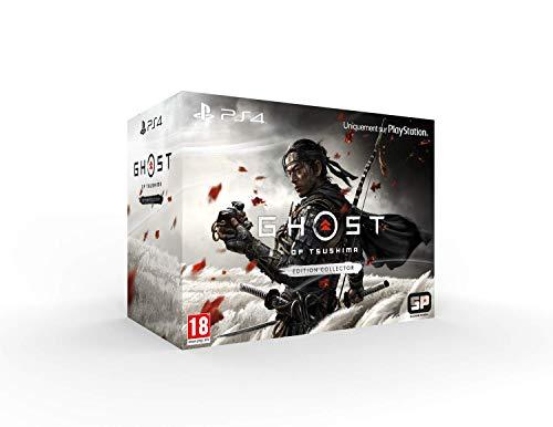 Sony, Ghost of Tsushima sur PS4, Jeu d'action et d'aventure, Édition Collector, Version physique, En français, 1 joueur, PEGI 18
