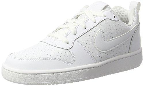 Nike Court Borough Low, Zapatillas de Deporte Mujer, Blanco (White), 37.5 EU