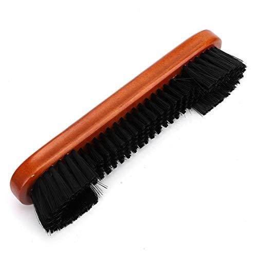 VINGVO Cepillo de Billar, Cepillo de Limpieza de Billar, Cepillo de riel de Billar 2 Piezas para Atletas Profesionales