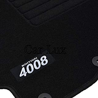Car Lux ar03675/Tapis de Voiture sur Mesure en Velours pour Le 5008/Depuis 2009 Edition Velours