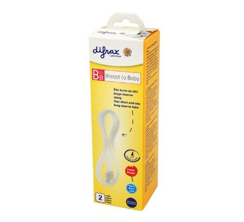 Difrax - Tubos de recambio para sacaleches BtoB