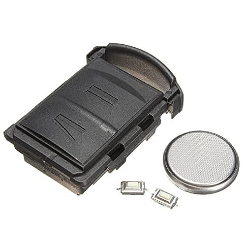 Interruptor de Carcasa de Mando a Distancia de 2 Botones + Kit de reparación de batería DIY para Vauxhall Opel Corsa Combo 2000-2006