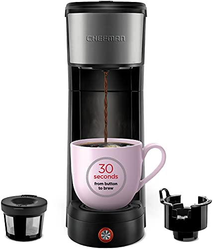 Chefman InstaCoffee Single Serve Coffee Maker