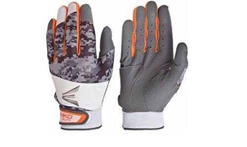Easton Youth Mako Elite Batting Gloves Orange, Small