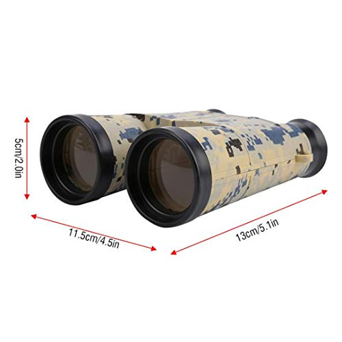 Best Bargain 6X42 Children Binoculars Telescope Military Games Toys Outdoor Camping Portable Telesco...