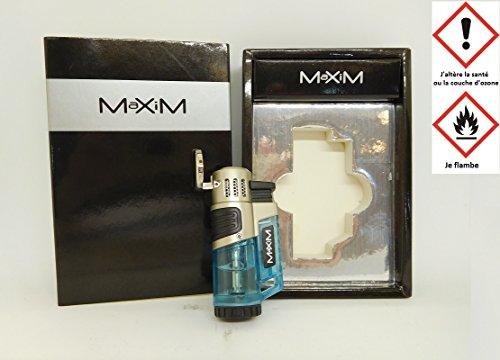 les colis noirs lcn Briquet MaXiM 3 Flamme Electrique Rechargeable - Feu Fumeur Cigarette - 263