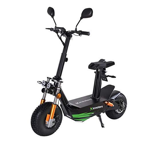 4MOVE Elektroroller Scooter 2000W Motor, 48V 12Ah Bleiakku, E-Roller mit Strassenzulassung, LED-Scheinwerfer, Scheibenbremsen, E-Scooter, Elektro Scooter, Electric Scooter, EEC