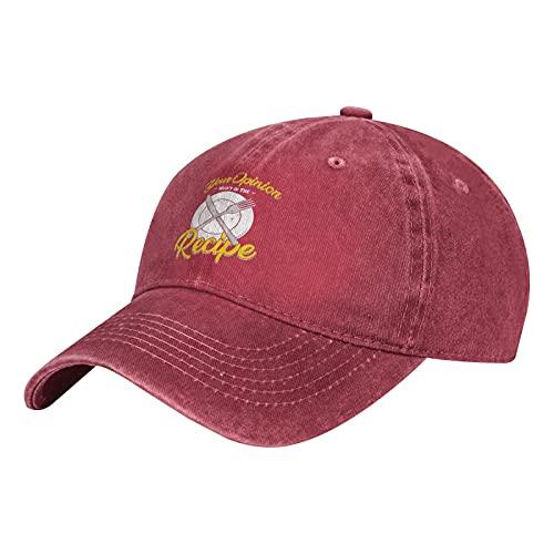 Your Opinion Wasn't in The Recipe-4 Cappelli, Vintage Denim Baseball Cap Cotone Papà Cappello...