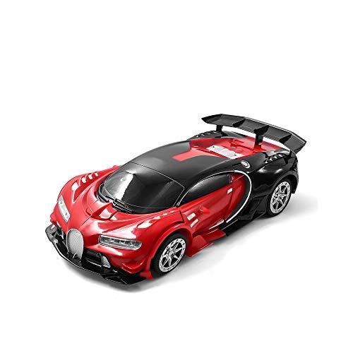 Kikioo 1:12 Transformar el robot del coche, RC Car 2.4G Deformación de inducción Control remoto Coche, Robot de deformación de automóviles, deformación de un solo clic - Coche de control remoto de jug