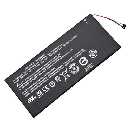 Uniamy Replacement 3.8V 3580mAh Battery For Acer A1402 Iconia One 7 B1-730 B1-730HD MLP2964137 3165142P KT.0010Z.001