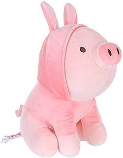 MINISO Rabbit Piggy Doll Stuffed Animals Mochi Plush Pillow Toy Gift for Kids Pink 10