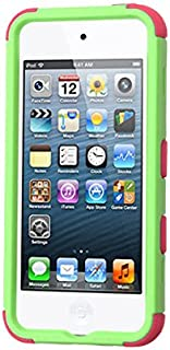MyBat Cell Phone Case for Apple Devices - Retail Packaging - Green/Pink