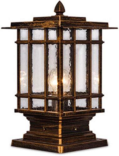PSOU Wandlamp, pillar lamp, buitendeur, lantaarnpaal, wandzuil, hoofdwand, villa, landschap, tuin, binnenplaats, woord, lamp platte plafondlamp