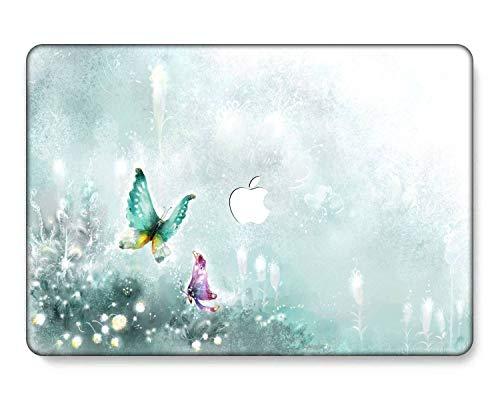 GangdaoCase Plastic Ultra Slim Light Hard Shell Case Cut Out Design for MacBook Pro 13 inch Retina Display No CD-ROM A1425/A1502 (Landscape 28)