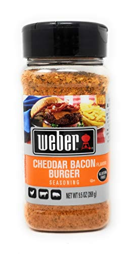 Weber Cheddar Bacon Burger Seasoning