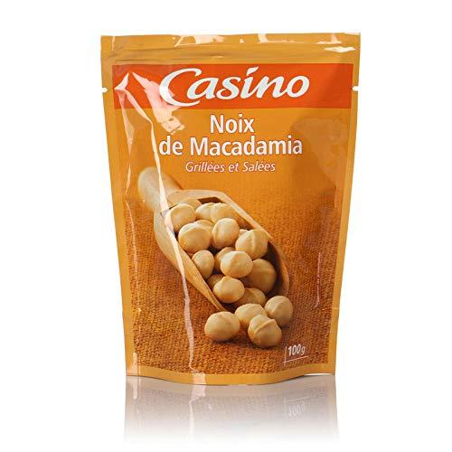 CASINO Noix de Macadamia Grillées Salé 100 g