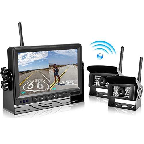Monitor Inalámbrico De 7 Pulgadas TFT LCD para Marcha Atrás Monitor De...