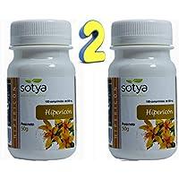 SOTYA HIPERICO 500 mg 200 comprimidos pack 100+100, Hierba de San Juan, mejora tu estado de ánimo,anti estrés, astenia primaveral, controla la ansiedad, ayuda en los cambios estacionales, relajante