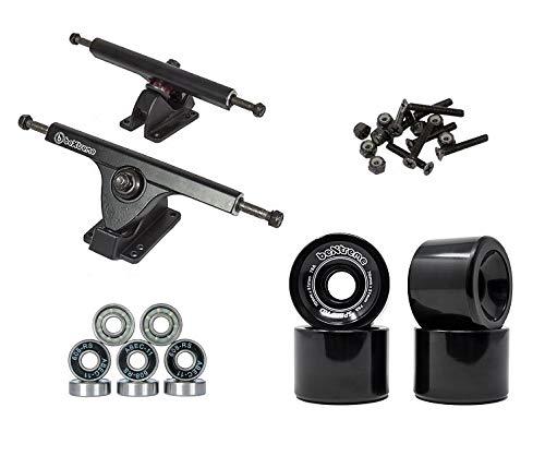 clasificación y comparación Ejes, ruedas, rodamientos de longboard para casa