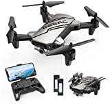 DEERC D20 Mini Drone Foldable for Kids with 720P HD FPV Camera Remote