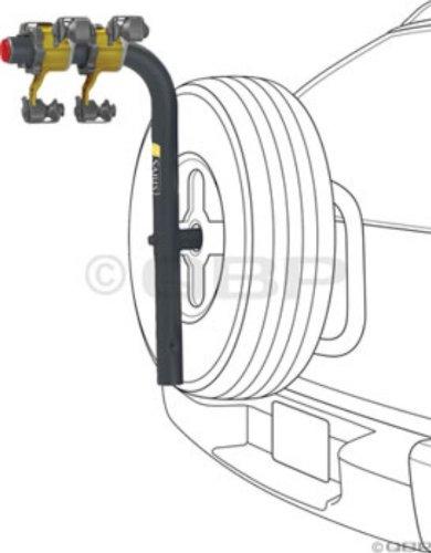B.A.T. 2-Bike Spare Tire Rack