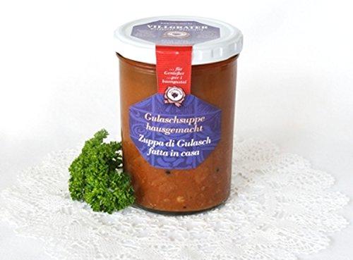 Zuppa di Gulasch tirolese fatta in casa 400 gr. - Villgrater