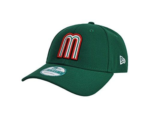 New Era 9Forty Men's Adjustable Hat World Baseball Classic Mexico Green Cap