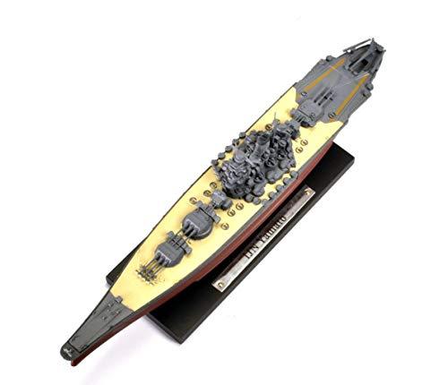 Atlas Yamato 1:1250 Modellschiff Die-Cast Metall Kriegsschiff mit Ständer