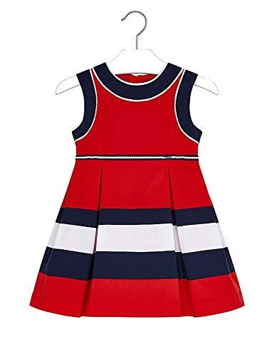 Mayoral 20-03939-035 - Vestido para niña 6 años