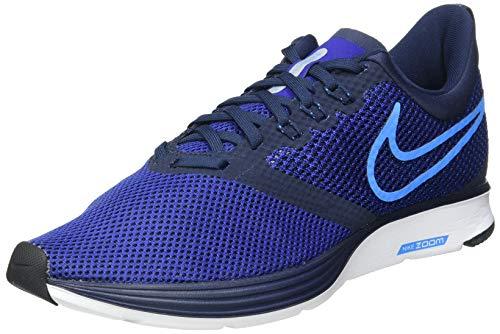 Nike Herren Zoom Strike Fitnessschuhe, Mehrfarbig (Obsidian/Blue Glow/Deep Royal Blue/Black 402), 44 EU
