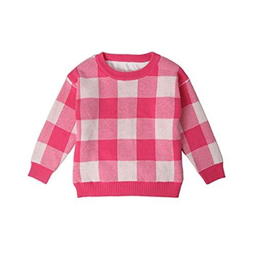 New Spring Autumn Baby Girls Boys Sweater Sweet Children Tops Girls Boys Sweater